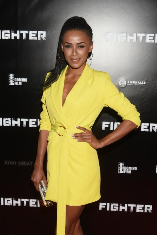 "Aleksandra Szwed na premierze filmu ""Fighter"""