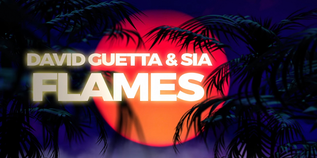 David Guetta Sia Flames