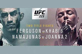 UFC 223: Ferguson vs Khabib