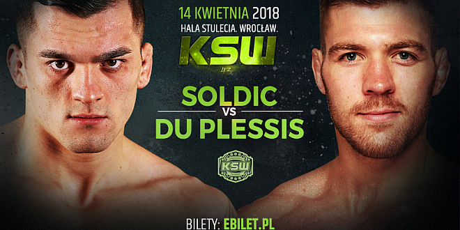 Soldić vs Du Plessis walka KSW 43