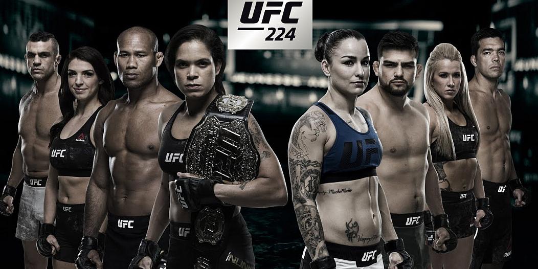 UFC 224 Rio de Janeiro
