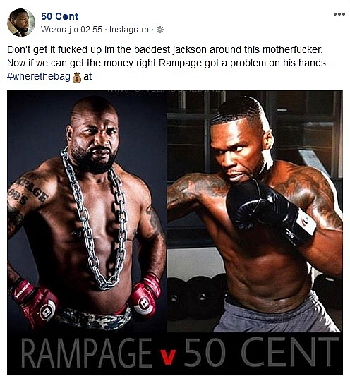 50 Cent Rampage