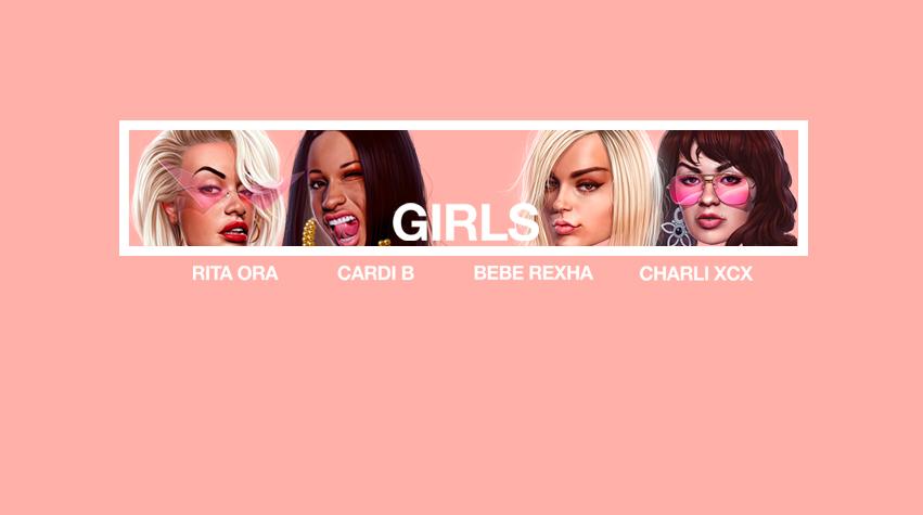 Rita Ora Girls video