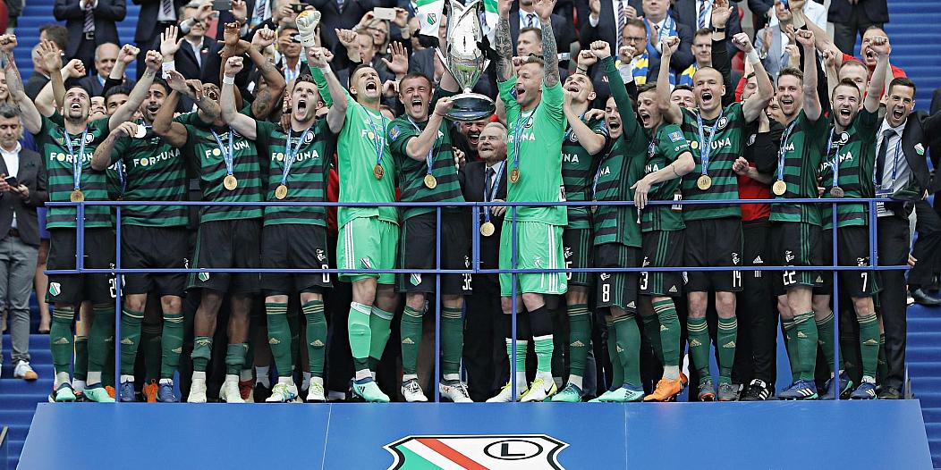 Legia Warszawa mistrz Polski