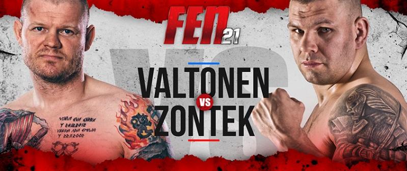 Valtonen vs Zontek walka