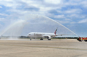 Emirates Dubaj Londyn Stansted