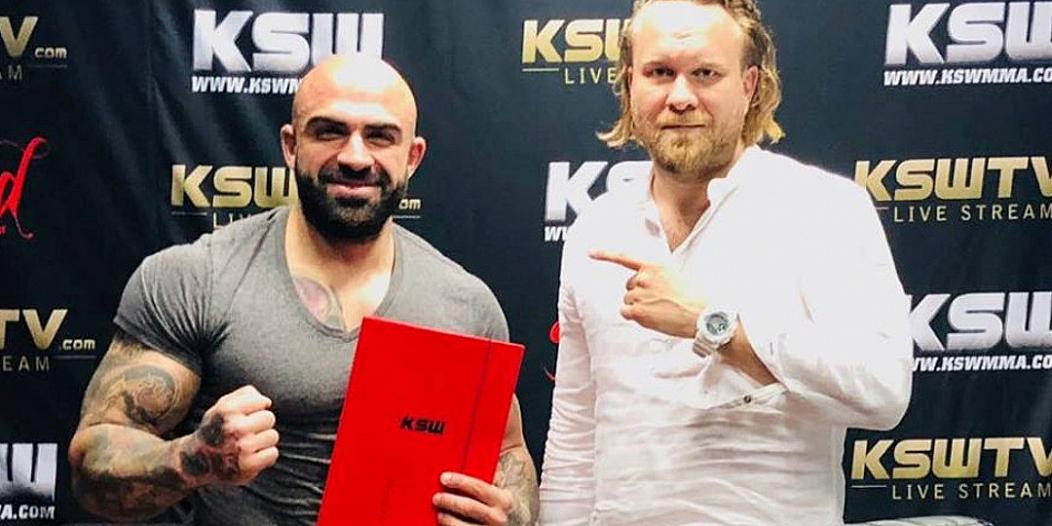 Akop Szostak w KSW