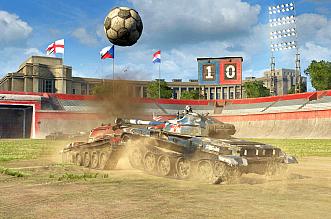 World of Tanks piłka nożna