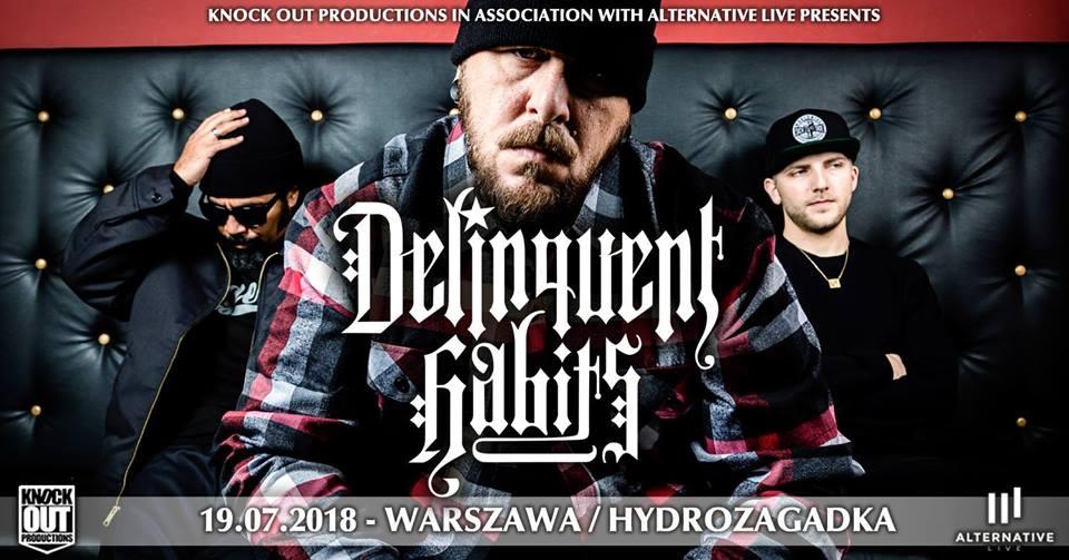 Delinquent Habits w Warszawie koncert