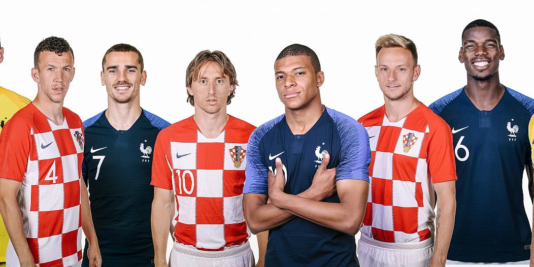 Francja Chorwacja MS Rosja 2018