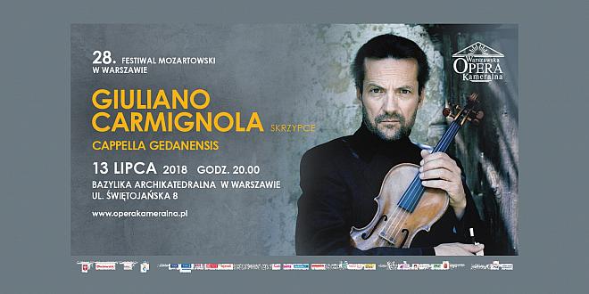 Giuliano Carmignola Warszawa