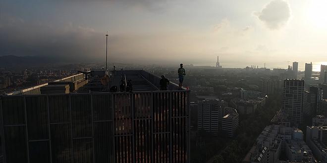 BNT Barcelona wspinaczka