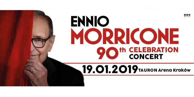 Ennio Morricone koncert Kraków 2019