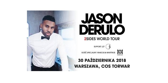 Jason Derulo Torwar 2018 bilety