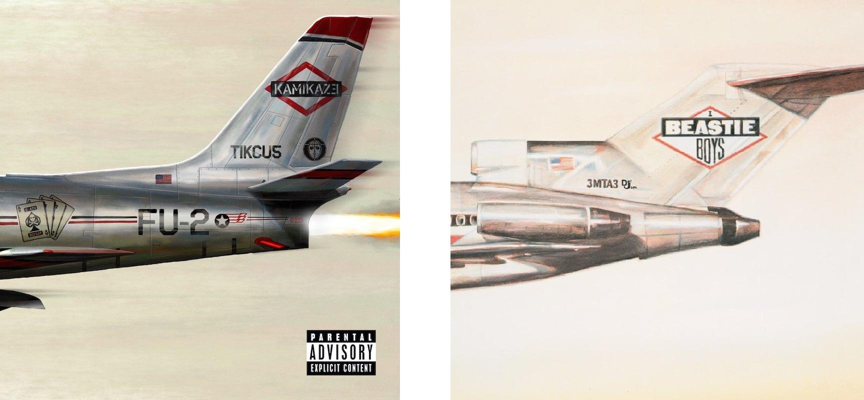Eminema Kamikaze cover