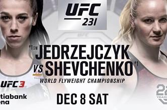 Jędrzejczyk vs Shevchenko