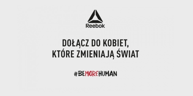 Reebok be more human