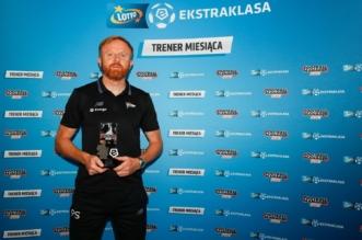 Piotr Stokowiec trener miesiąca