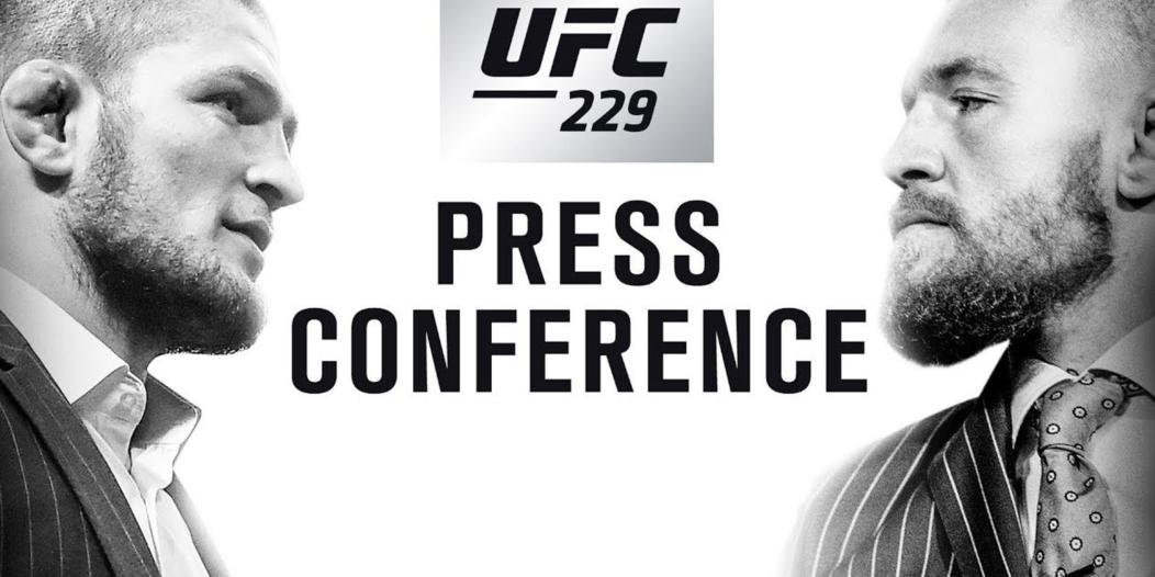 Konferencja prasowa UFC 229