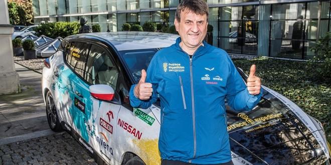 Marek Kamiński samochód elektryczny