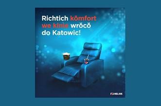 Nowoczesne kino Katowice
