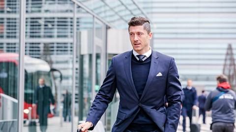 ROBERT LEWANDOWSKI NOMINOWANY DO DRUŻYNY ROKU UEFA 2018