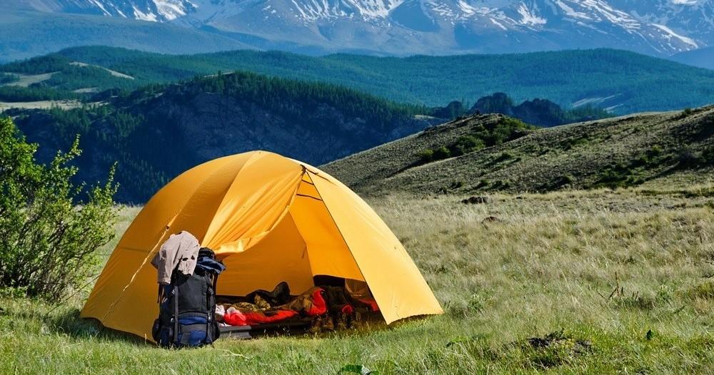 wyprawa pod namiot