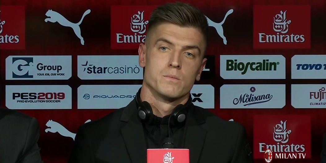 Krzysztof Piątek AC Milan