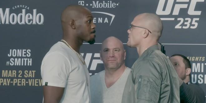 UFC 235 face to face