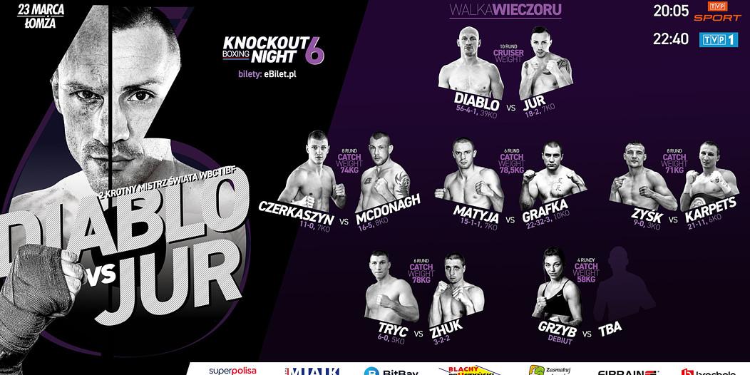 Knockout Boxing Night 6
