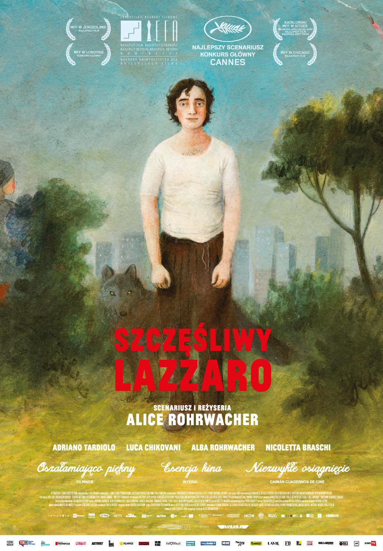 Szczęśliwy Lazzaro plakat