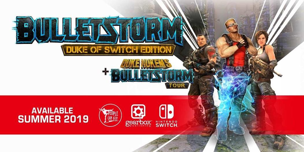 Bulletstorm Nintendo Switch