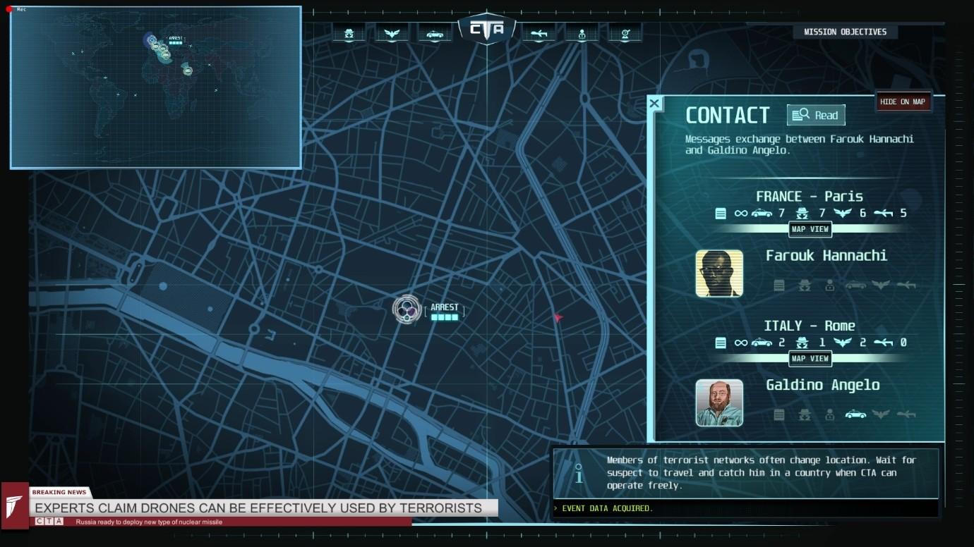 Counter Terrorist Agency premiera