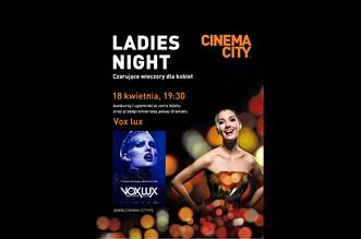 Ladies Night 2019 cinema city