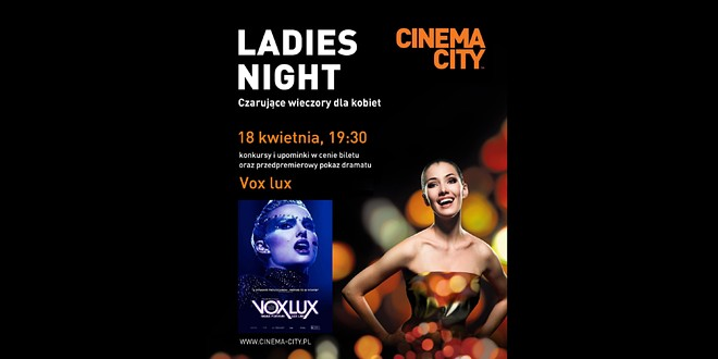 Ladies Night 2019 cinema city