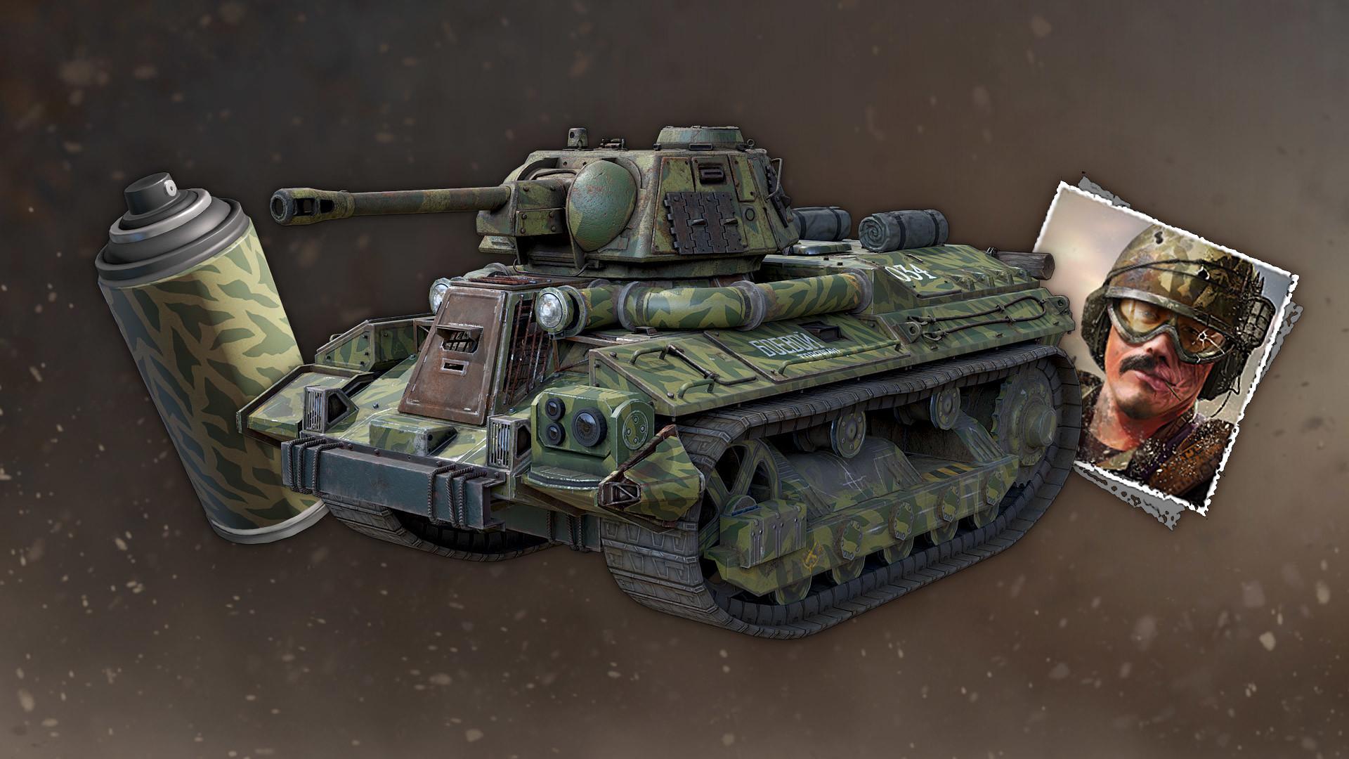 Crossout t-34