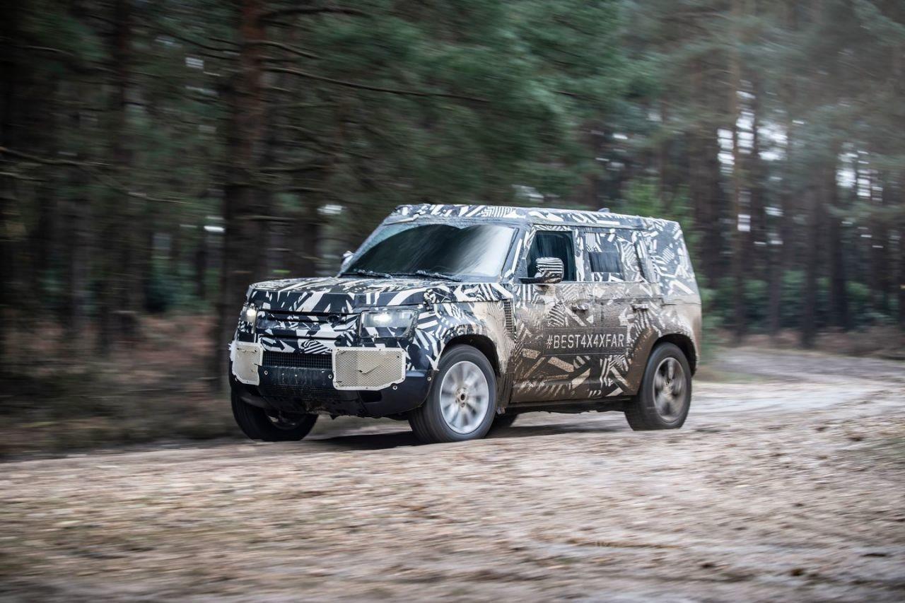 Land Rover Defender premiera